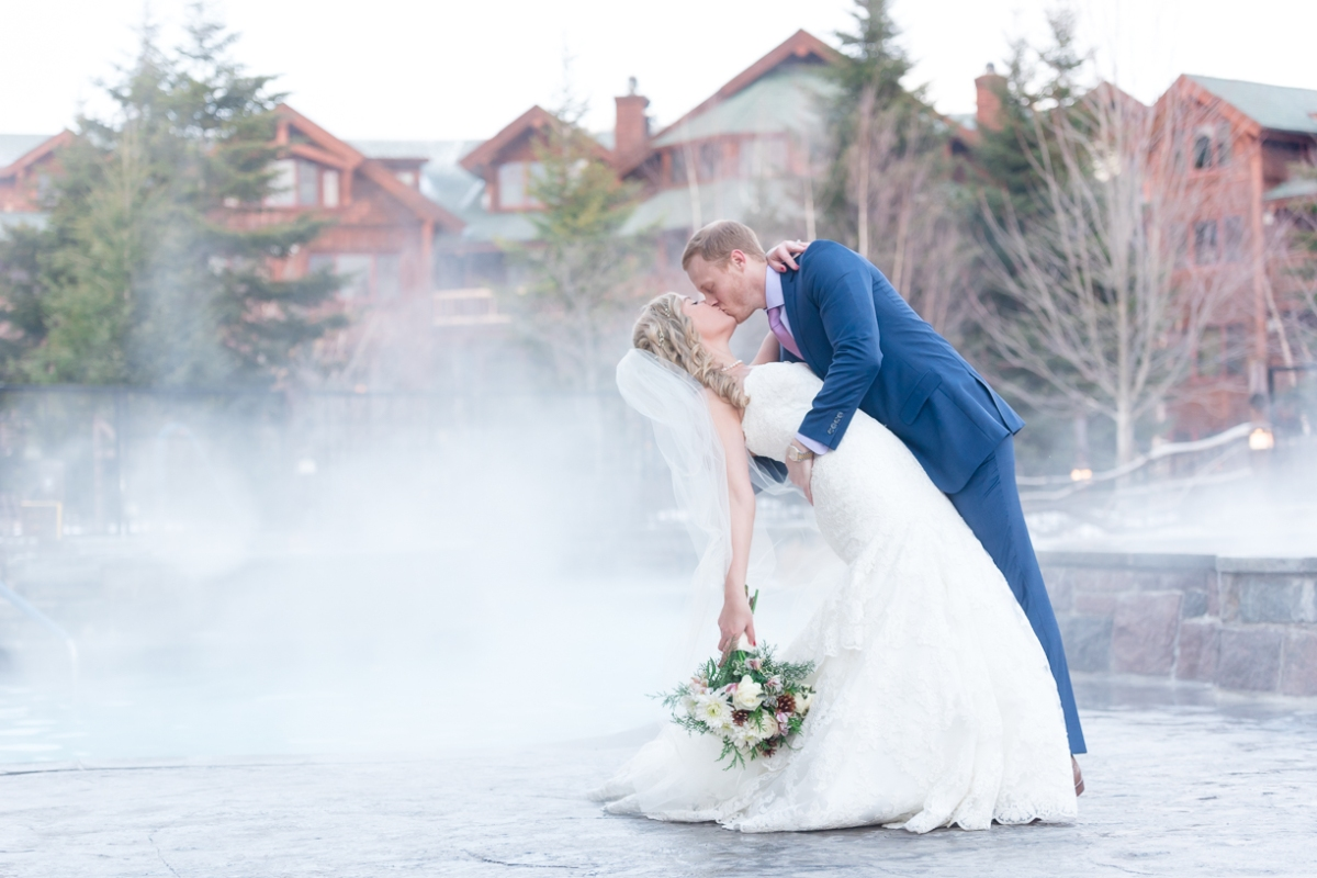 Winter Wedding at The Whiteface Lodge