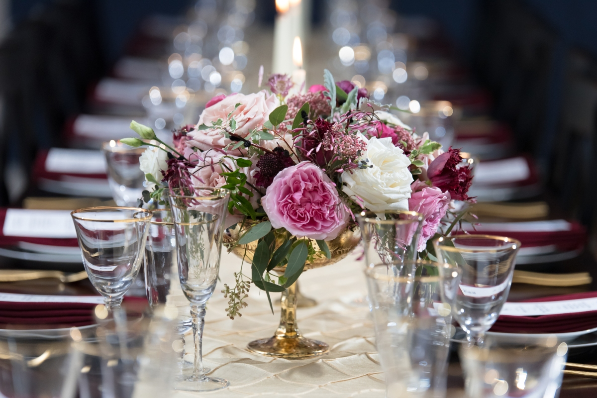Golden ADK Night - Styled Wedding